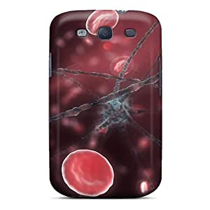 New Style Case Cover HnvAPlI7728XqNje Neuron Red Blood Cells 67 Compatible With Galaxy S3 Protection Case