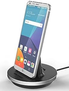 LG G6 Desktop Charging Dock - Type C Charger (case compatible) by Encased