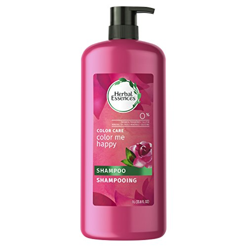 Herbal Essences Color Me Happy Shampoo for Color-Treated Hair, 33.8 fl oz (Packaging May Vary) (Best Shampoo For Shiny Color Treated Hair)