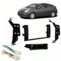 Fits Toyota Prius 2004-2009 Single DIN Stereo Harness Radio Install Dash Kit