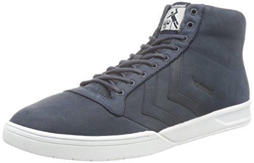 Hummel Hml Stadil Winter High Sneaker, Zapatillas Altas Unisex Adulto Azul (Total Eclipse)