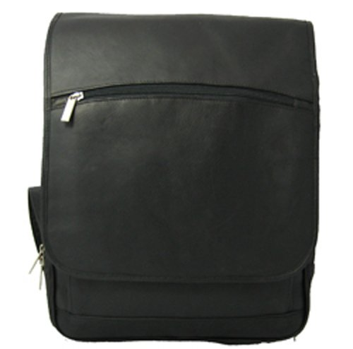 David King & Co. Large Computer Flapover Backpack, Black, One Size by David King & Co