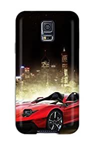 Excellent Design Lamborghini Aventador J 24 Phone Case For Galaxy S5 Premium Tpu Case