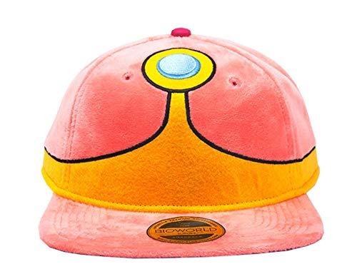 Adventure Time Baseball Cap Princess Bubblegum Plush Official Pink Snapback