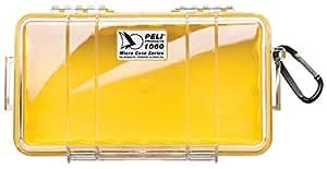 Peli 1060 - Caja micro, color amarillo