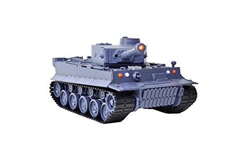 Heng Long Battle Tank 1:26 IR German Tiger I RC Battle Tank 3840 Infrared Battle Function