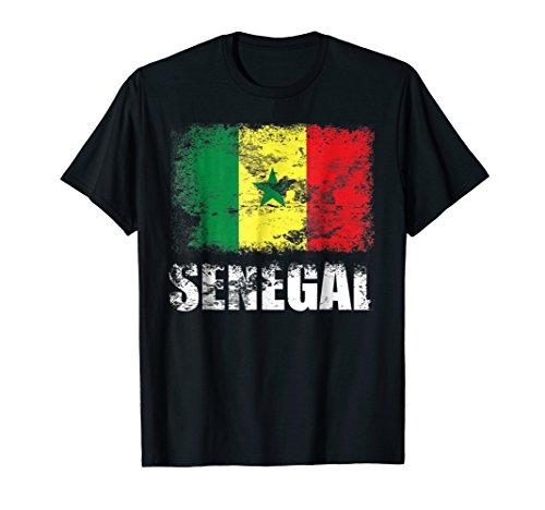 Senegal Flag T-Shirt | Senegalese Flag - Senegal Colors Flag