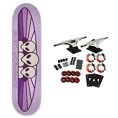 - Alien Workshop Skateboard Complete Spectrum Pastel Purple 8.25