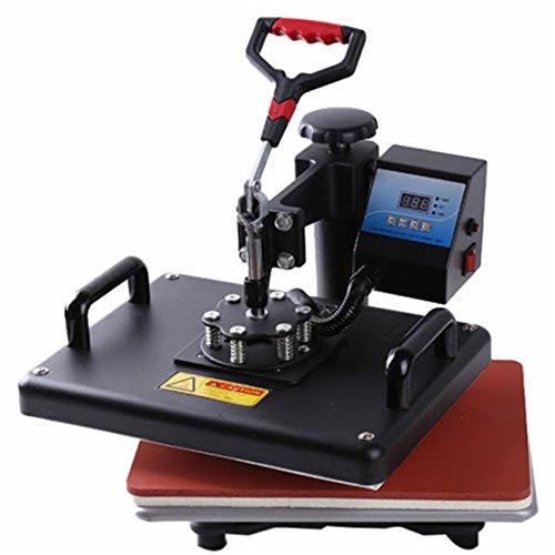 """ULAKY 2in1 12"""" x15"""" Heat Press Machine T-Shirt Heat Press"""