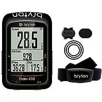 Bryton Rider 410T, Computer GPS Unisex – Adulto, Nero, M
