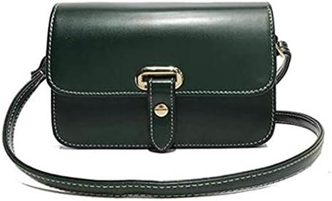バッグ、新しいファッションベルトスモールスクエアバッグ、ワイルドスモールバッグ、シンプルなレトロショルダーバッグメッセンジャーバッグ、グリーン、20 * 13 * 7 Cm 美しいファッション