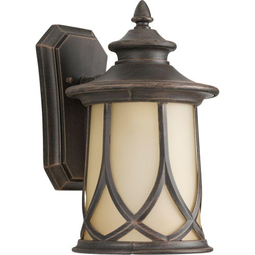 Progress Lighting Resort Collection 1-Light Outdoor Aged Copper Wall Lantern