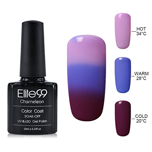 Elite99 10ML UV LED Thermal Temperature Color Changing Gel Nail (Soak Off Color)