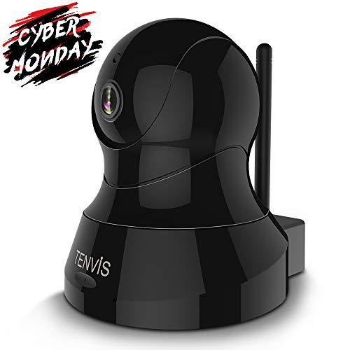 TENVIS 1080P IP Camera – Wireless IP Camera, Indoor Security Camera with Pan/Tilt/Zoom Function, Night Vision, Two-Way Audio & Motion Detection, Home Surveillance Camera for Baby/Pet/Nanny Monitor
