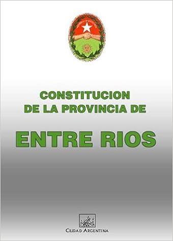 Resultado de imagen para constitucion de la provincia de entre rios
