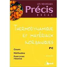 thermodynamique et materiaux inorganiques pc (precis)