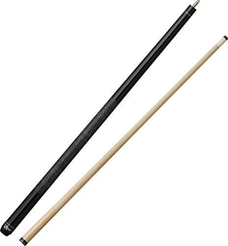 "Viper Elite 58"" 2-Piece Billiard/Pool Cue, Metal Black, 20 Ounce"