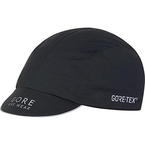 GORE BIKE WEAR EQUIPE GORE-TEX Cap, one size, black (Black Cycling Cap)
