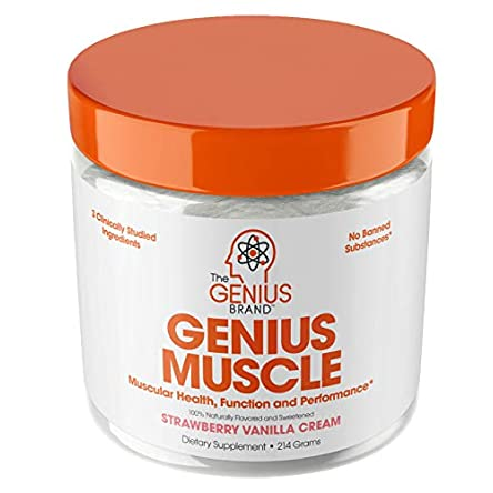 Genius Muscle Builder – Best Natural Anabolic Growth...