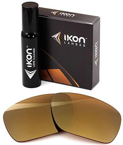 Polarized Ikon Iridium Replacement Lenses For Oakley Dispatch 1 Sunglasses - 24K Gold - Twenty Sunglasses Oakley