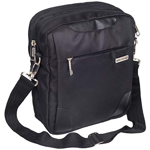 Killer KLC-PC-90004-01 Unisex Messenger Bag (Black)