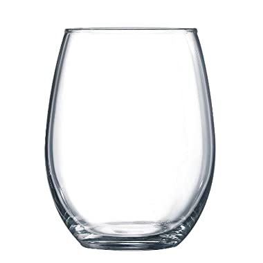 Arc International Luminarc Cachet/Perfection Stemless Wine Glass, 15-Ounce, Set of 6
