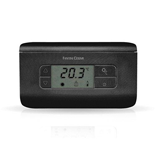 150 opinioni per Fantini Cosmi CH117 Termostato Ambiente a Batterie, 3 Temperature, Antracite