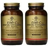 Solgar Ester-C Plus 1000 mg Vitamin C Tablets - 180 tablets (360 tablets)