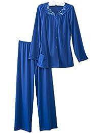 Women's Petals Long Sleeve Pajama