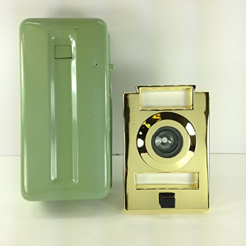 Parker   Non Electric  Mechanical Door Chime  Doorbell And Viewer  Polished Brass