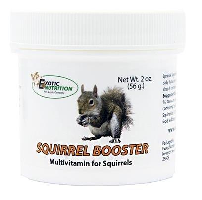 (Exotic Nutrition Squirrel Booster 2 oz. - Squirrel Multivitamin)