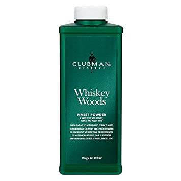 Clubman Reserve Whiskey Woods Cornstarch Powder (9 oz) 90782