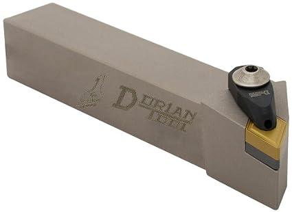 3//4 Shank Width 1//2 Insert Left-Hand Cut 4-1//2 Overall Length Dorian Tool ADDJN Jet-Stream Square Shank Chromium Molybdenum Alloy Steel Thru-Coolant Turning Holder 3//4 Shank Height