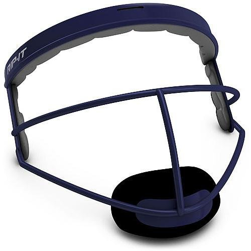 RIP-IT DEFENSE SOFTBALL INFIELDER'S FACE MASK-YOUTH NAVY ()