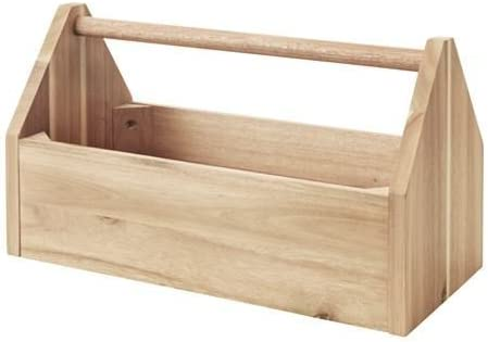 caja de almacenaje con mango SKOGSTA, Acacia: Marcus Arvonen ...