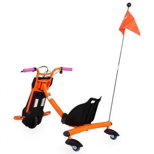 Scooter eléctrica Drift 360 Patinete Kart Drift Naranja S ...