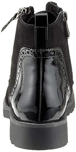 Femme Noir 098 Tozzi black Comb Bottes Rangers 21 Marco 25270 XzBnfxBY