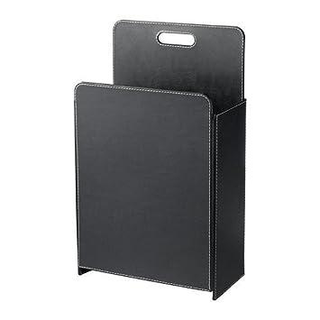 IKEA RISSLA -Papierkorb schwarz: Amazon.de: Küche & Haushalt