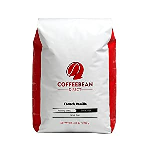 Coffee Bean Direct Flavored, Whole Bean Coffee, 5 Pound