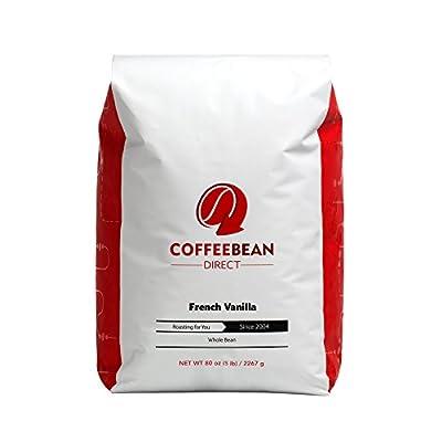 Coffee Bean Direct Flavored, Whole Bean Coffee, 5 Pound
