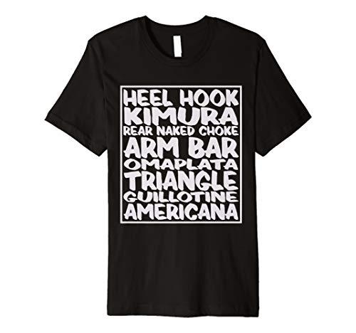 Jiu Jitsu Shirt | BJJ Moves BJJ Shirt for Men, Women & Kids