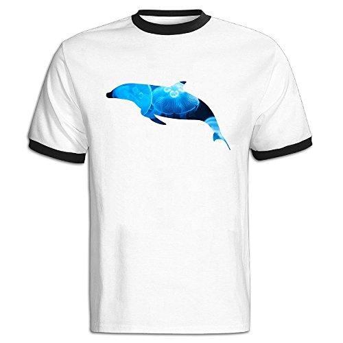 SHANXQ Men's Dolphin T Shirt