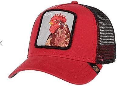 Capslab Gorra de béisbol Goorin Bros Plucker, Color Rojo: Amazon ...