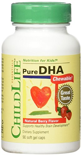 (Child Life 2Piece Pure DHA Soft Gel Capsules Supplements, 180Count)