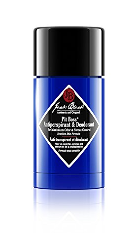 Jack Black Pit Boss Antiperspirant & Deodorant 2.75 oz. (Lube Shave Beard Conditioning)