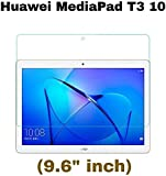 M.G.R.J® HD + 9H Hardness Toughened Tempered Glass Screen Protector for Honor MediaPad T3 10 (9.6 inch)
