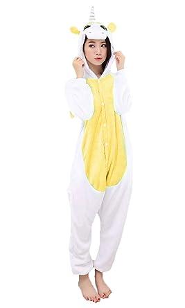 plus de photos à vendre grande remise Pyjama Licorne Cosplay - Halloween Carnavale Unisexe Adulte Costume  Déguisement Animaux Capuche Flanelle