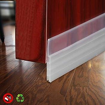 Baining Door Draft Stopper Sweep Silicone Door Seal Strip