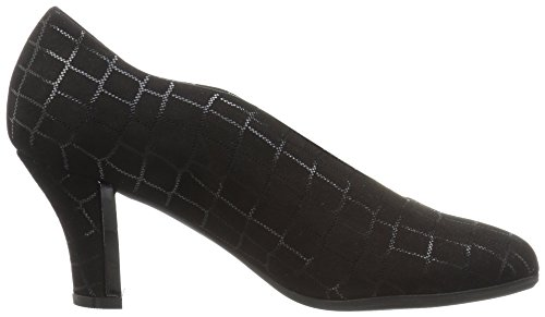 Beautifeel Vrouwen Calla Dress Pump Zwart Croco Print Suède