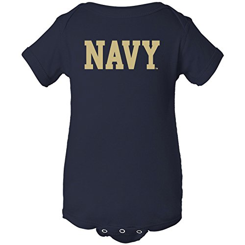 - YC01 - Navy Midshipmen Basic Block Creeper - 12 Month - Navy